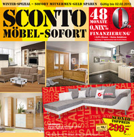 sconto m bel sofort. Black Bedroom Furniture Sets. Home Design Ideas